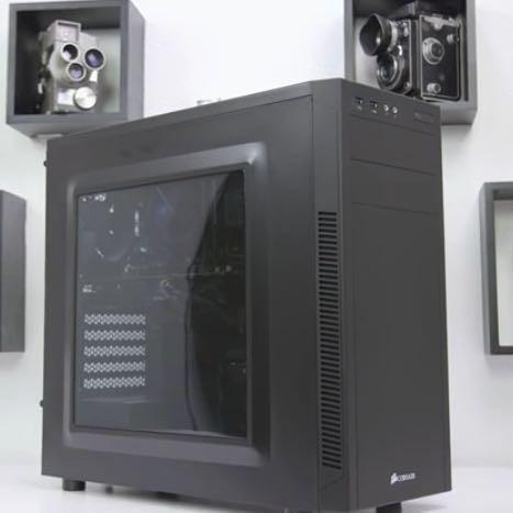 So sieht er ungefähr aus wenn du ihn zusammen gebaut hast - (PC, Minecraft, Grafikkarte)
