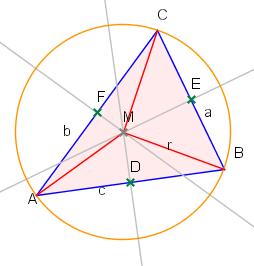 Umkreismittelpunkt eines Dreiecks - (Mathe, Geometrie)