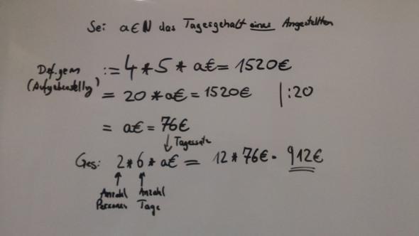 - (Mathematik, Notfall)