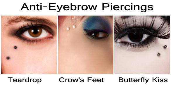 Anti Eyebrow Piercing - (Piercing, nicht bekannt)