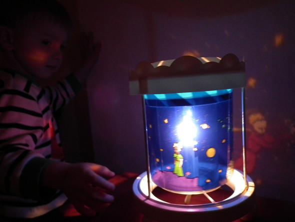 Karussell-Lampe von trousselier - (Kinder, schlafen, Nachtsicht)