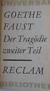 Faust 2 - (Buch, Faust, Deutsche Literatur)