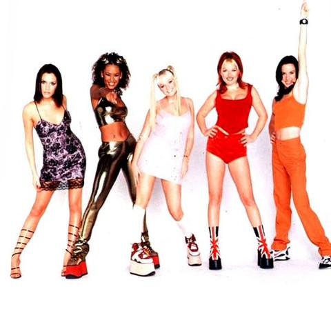 Spice Girls in den 90ern - (Kleidung, Kleid, Kostüm)