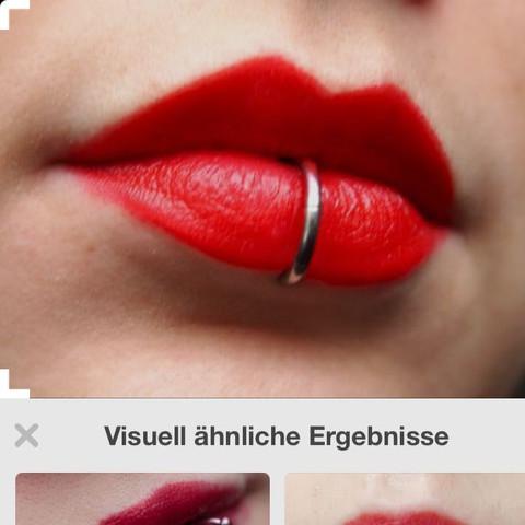 So zum Beispiel  - (Piercing, Schmuck)