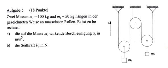 Aufgabe - (Physik, Aufgabe)