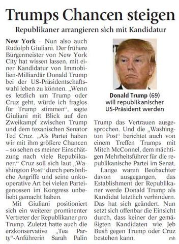 Trump - (Politik, USA, Ausland)