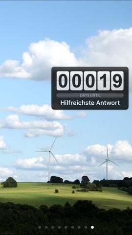 - (App, Countdown, existieren)