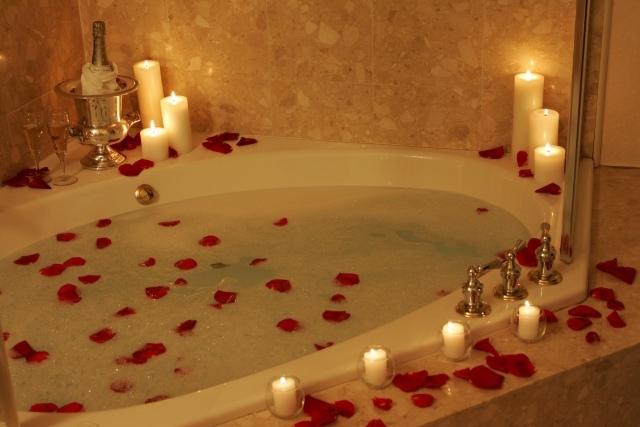 Romantisches schlafzimmer mit kerzen  Romantische Bilder Mit Kerzen ~ artownit for .