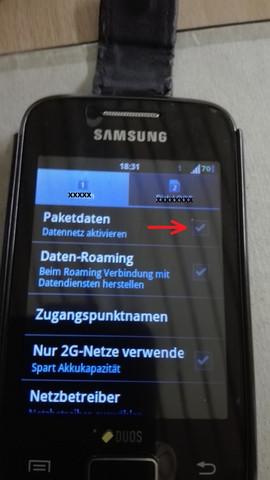 SIM-Daten aktivieren/deaktivieren - (iPhone, WLAN)
