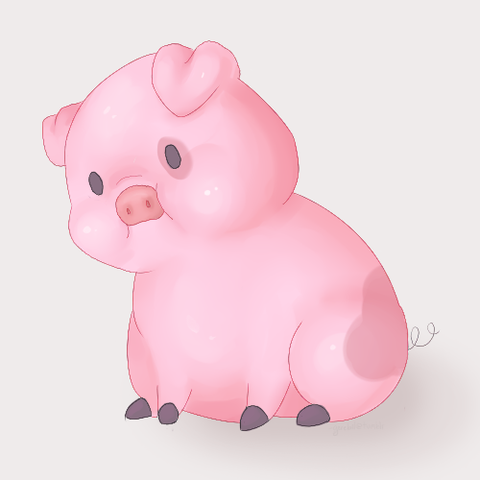 schweine sind auch nicht immer perfekt sauber - (Zunge, Mundgeruch, Belag)