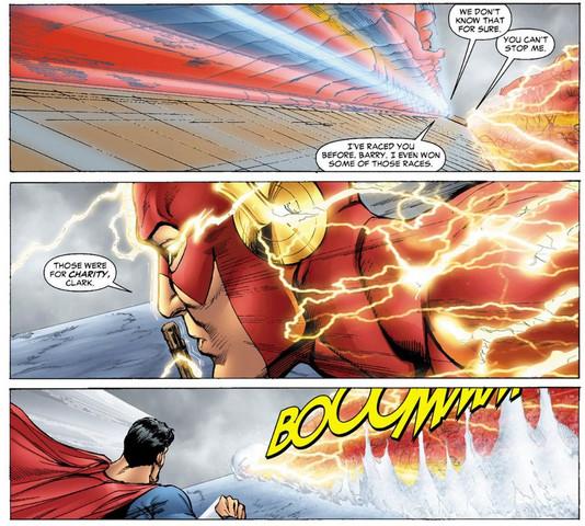 - (Geschwindigkeit, Flash, Superman)