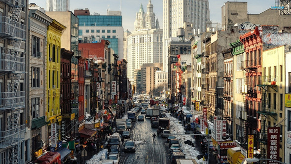 Die Straßen New York's - (USA, Amerika, New York)