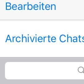 Android chats löschen whatsapp archivierte So können