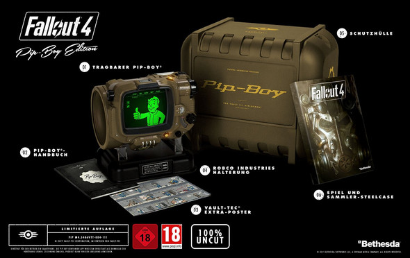 Fallout 4 Pip-Boy Edition - (Spiele, Games, PS4)