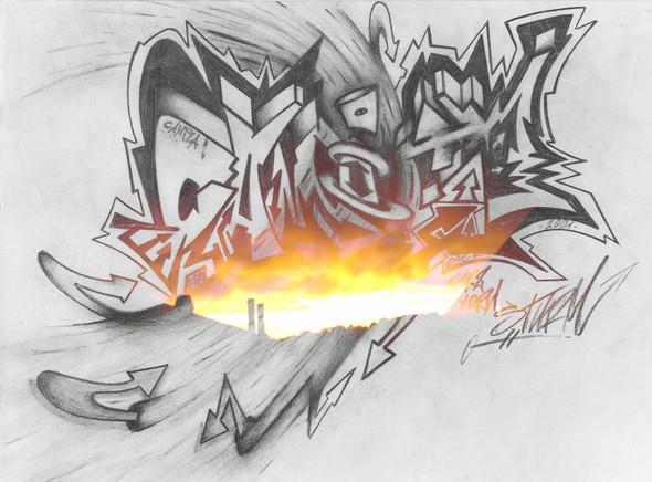 camila - (Tattoo, Design, Graffiti)
