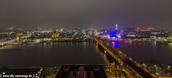 Februarabend gegen 17.45 Uhr - (Köln, köln Sehenswürdigkeiten )