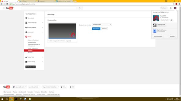 Hier kannst du es sehen :D - (Youtube, Video, Logo)