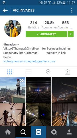 - (Internet, instagram, Account)