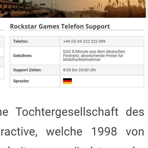 RockstarGames Kontaktieren? (GTA 5, GTA V, Rockstar Games)
