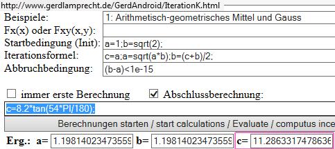 online Iterationsrechner - (Handy, Mathematik, App)