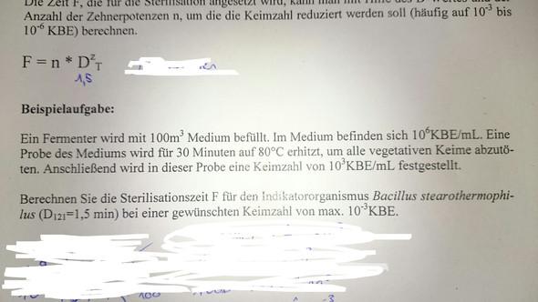 Arbeitsblatt - (Mathe, Chemie, Biologie)