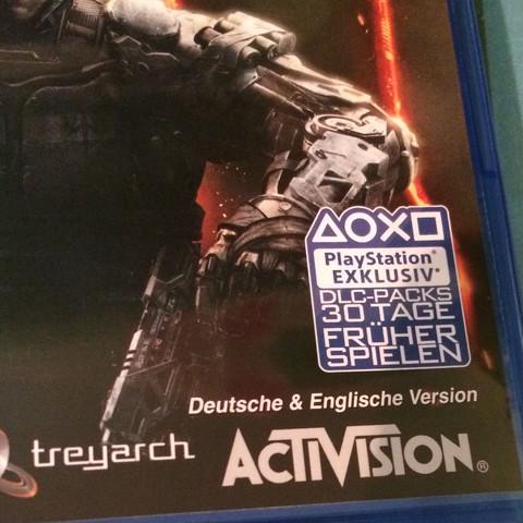 Meins ist in deutsch und englisch ;) - (Technik, Games, PS4)