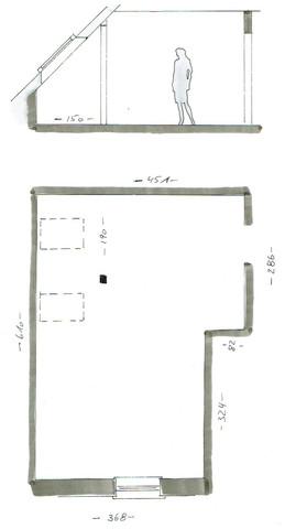 Grundriss und Schnitt - (Haus, einrichten, hausplan)