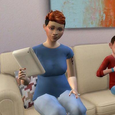 So sieht das Slablet aus.  - (PC, Sims, Tablet)