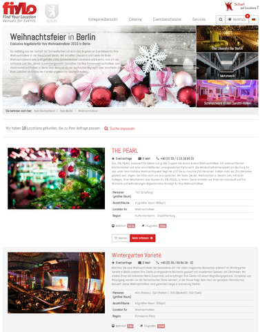 Angebote Weihnachtsfeier Berlin - (Berlin, Weihnachtsfeier, betriebsausflug)
