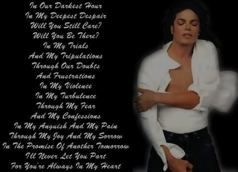Michael Jackson Liebeszitate Tolle Sprüche Leben