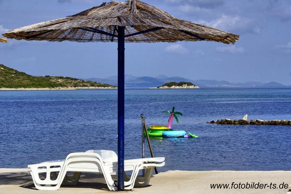 Adria bei Turanj Nähe Zadar  - (Urlaub, Reise, Sommer)