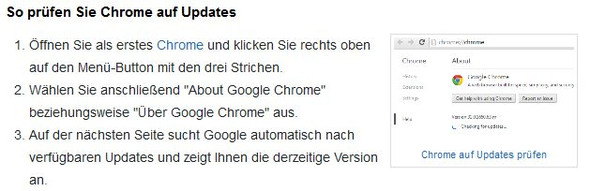 Chrome auf Updates prüfen – so klappt's - (Internet, google-chrome, Flash-Player)