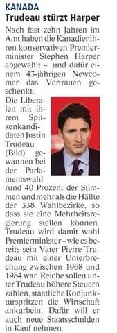 Trudeau - (Präsentation, Kanada)
