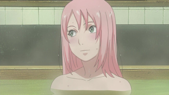 Bath scene - Road to Ninja - (Anime, Manga, Naruto)