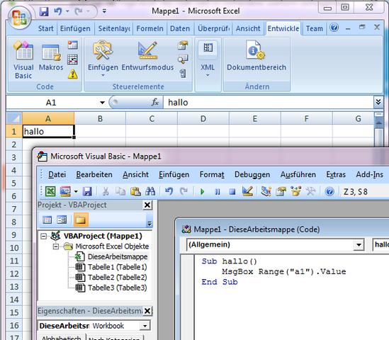Wie kann ich einen Excel VBA Code Wert in eine vorhandene UserForm ...