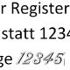 Zahlen in Word andere Schriftart