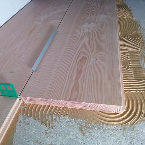 fu bodenheizung mit massivholzdielen fussbodenheizung. Black Bedroom Furniture Sets. Home Design Ideas