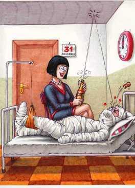 Und allen Kranken gute Besserung! - (Party, Silvester, Neujahr)
