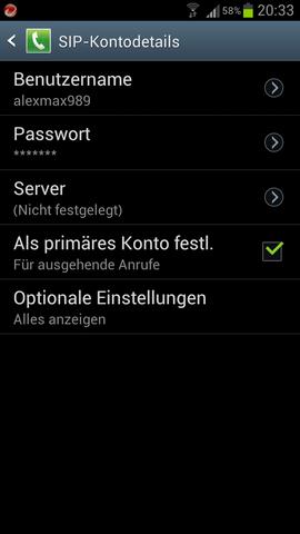 - (Handy, Samsung, Einstellungen)