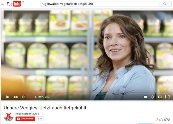 - (TV, Werbung, Personen)