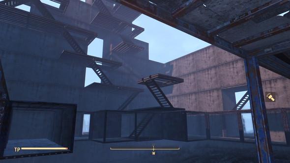 im Bau .. mit den Treppen-Böden - (Mods, Fallout 4, Betonblöcke)