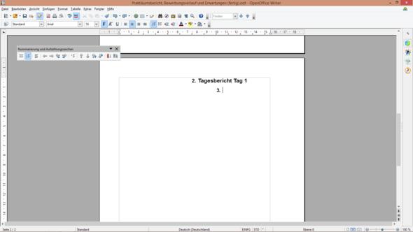- (Praktikum, Open Office, OpenOffice)
