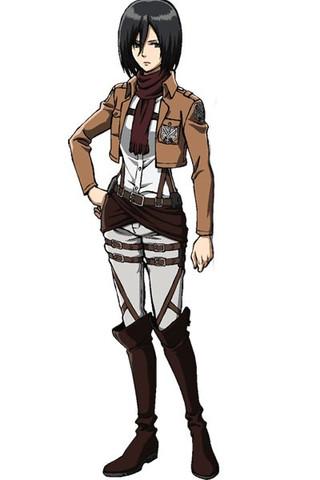 Mikasa - (Mädchen, Anime, Manga)