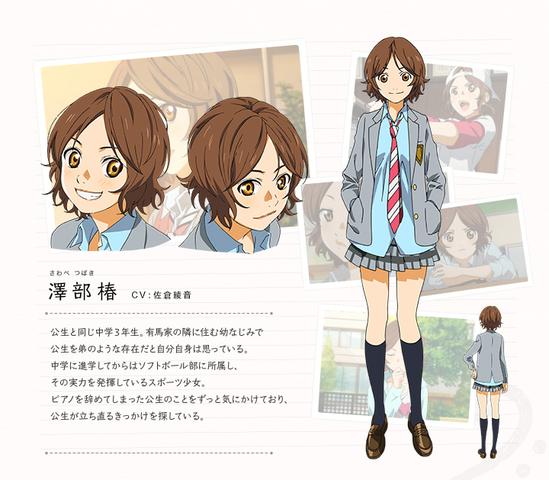 Tsubaki - (Mädchen, Anime, Manga)