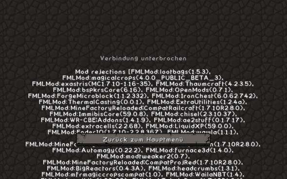 - (Minecraft, Skyfactory 2)