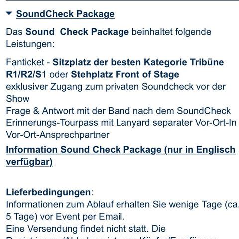 Da steht wo du sitzen wirst :) - (Konzert, München, 5SOS)