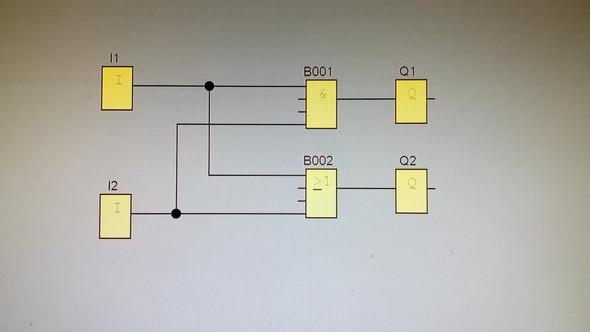 Beispiel Mehrfachverwendung digitaler Eingänge - (programmieren, Logo, Siemens)
