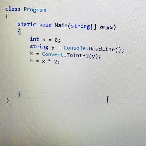 - (programmieren, C Sharp)