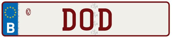 - (Belgien, Autokennzeichen)