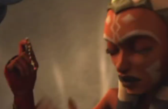 Ahsoka holt sich die Perlenkette zurück - (Star Wars, ahsoka-tano, cad bane)